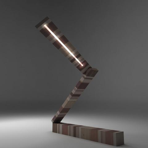 Lampada da Tavolo Invenzione d'Arredamento Design